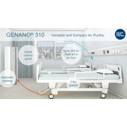 Genano310 Purificador de aire Versátil y Compacto