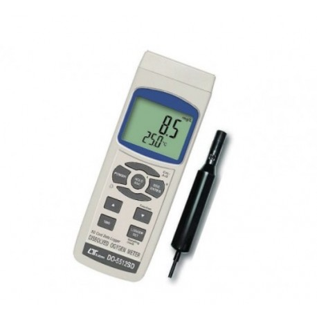 DO-5512SD Dissolved Oxygen Meter 0 to 20.0 mg/L.