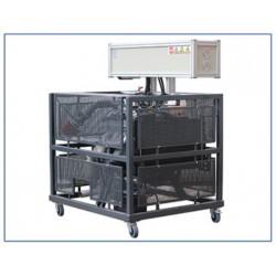MVMPI 1 Modelo de Motor Educacional Automotivo com Sistema de Injeção de Gasolina MOTRONIC
