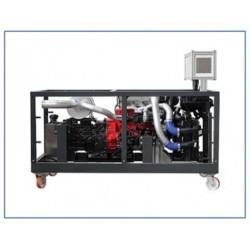 MVSPLD 1 Modelo de Motor Educacional Automotivo com Bomba - Linha - Bico (PLD) Sistema de Abastecimento de Combustível