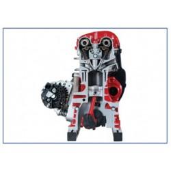 IVDB01 Modelo Seccionado do Motor de Gasolina DOHC FSI