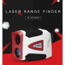 AO-1500-DSHA Laser Range Finder - Measures distance (1500m), speed, height, angle.