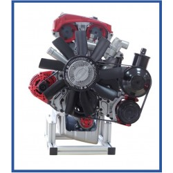 IVDB02 Petrol Engine Cutaway Model DOHC MPI