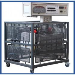 MVCR 1 Modelo de Motor a Diesel com CR EDC - 15 Sistema de Abastecimento de Combustível EURO 3