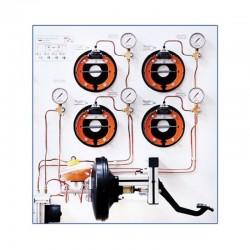 MSABS / ASR 1 Simulador y Tablero de Entrenamiento del Sistema de Frenos ABS / ASR 5.3 BOSCH