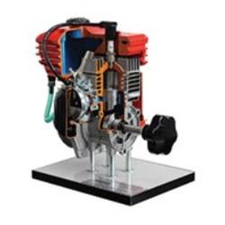 AE37450 Modelo Seccionado de Motor a Gasolina a 2 Tempos