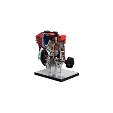 AE37450 Modelo Seccionado de Motor de Gasolina de 2 Tiempos