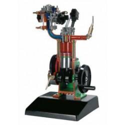 AE37460 Modelo de Motor a Gasolina a 4 Tempos com Injeção Eletrônica Monojetrônica (Com Base) - Manual