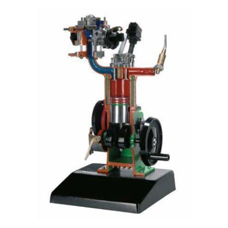 AE37460 Modelo de Motor de Gasolina de 4 Tiempos con Inyección Electrónica Monojetronic (Con Base) - Manual