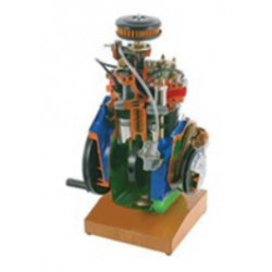 AE35230 2 Cylinders Petrol Engine Cutaway Model