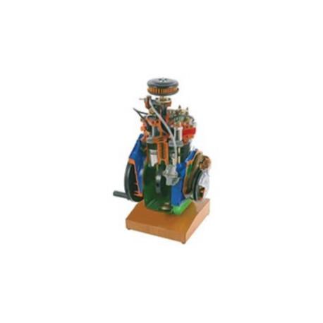 AE35230 Modelo Seccionado de Motor de Gasolina de 2 Cilindros