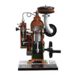 AE37100 Modelo Seccionado de Motor a Diesel de Injeção Direta a 2 Tempos