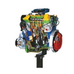 AE35205 6V Cylinders Petrol Engine with Multi-point Electronic Injection Cutaway Model