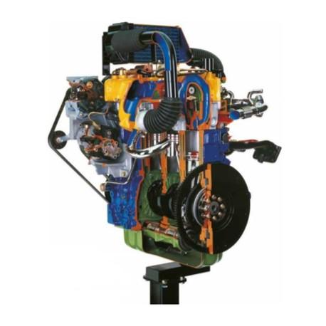 AE36010 Motor CHRYSLER Turbo Diesel de 16 Válvulas con Intercooler (Common-Rail) (Soporte con Ruedas) - Eléctrico