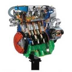 AE36015 8 Valve Engine with Turbo Diesel Common-Rail Cutaway Model