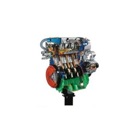 AE36015 8 Valve Engine with Turbo Diesel Common-Rail Cutaway Model