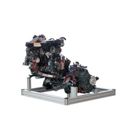AEMBA170 Modelo Seccionado de Motor Diesel Common Rail (DOHC) con Caja de Cambios Manual