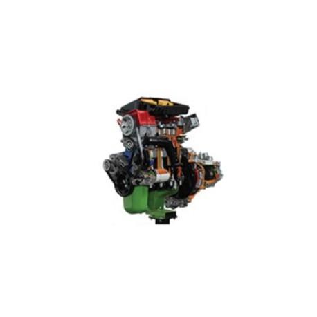 AE35220 C Motor de Gasolina Fiat con Carburador + Caja de Engranajes (Soporte con Ruedas) - Eléctrico