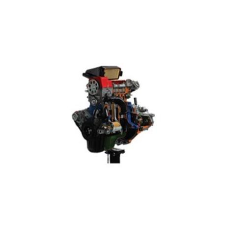 AE35222IE Motor de Gasolina FIAT con Inyección Electrónica Multipunto y Modelo de Seccionado de Caja de Engranajes