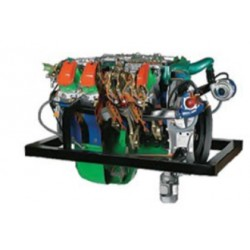 AE36084 Motor IVECO Seccionado Turbo Diesel Truck 8 Cilindros em V Turbostar