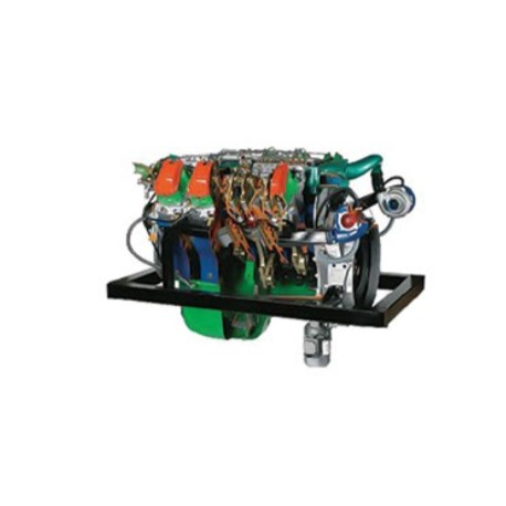 AE36084 8 V Cylinders Turbo Diesel Engine for Truck IVECO Turbostar 190-38 cu. cm Cutaway Model