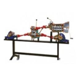 AE411300 Conjunto de Transmissão Veicular 4X4 com 5 Velocidades Mecânicas