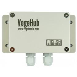 Monte su VegeHub resistente y a prueba de agua en cualquier lugar.
