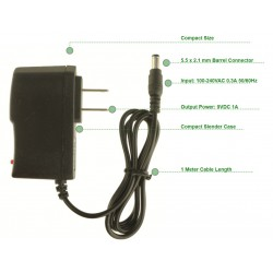 Power Supply Adapter (9V 1A)