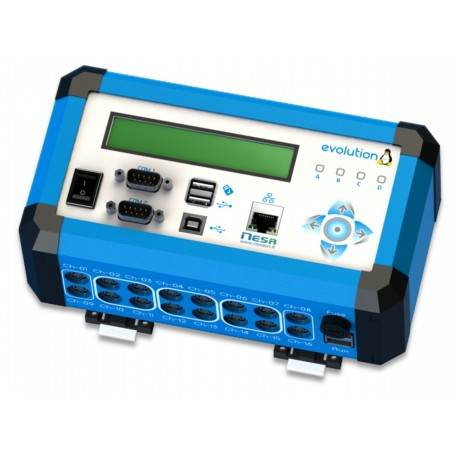 EVOLUTION High performance Linux data logger according to CEI 13005 Standard