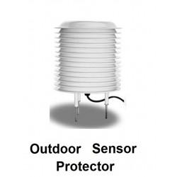 Protetor de chuva e anti-UV AO-95-01 com âncora (sensor não incluído)
