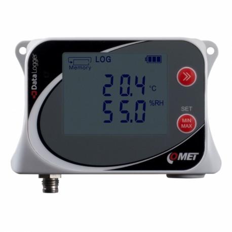 U3121 Termohigrómetro para Temp/HR con sondas externas (-30 a +105°C) (0 a 100%)