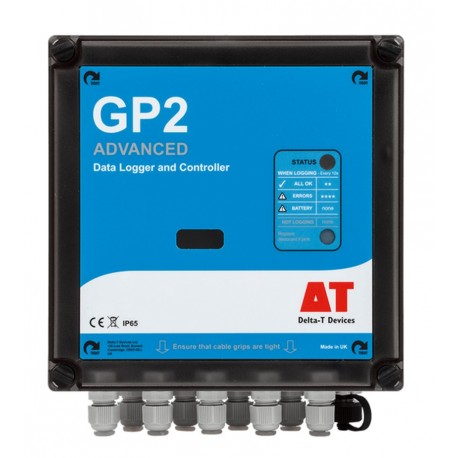 GP2 - Data Logger Avanzado compatible con SDI-12