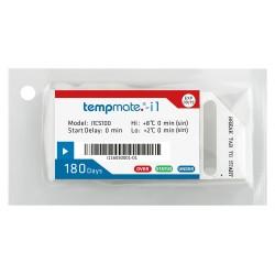 Tempmate.®-i1 INDICADOR DE TEMPERATURA de uso único compatível com EN12830