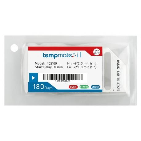 Tempmate.®-i1 Single-use TEMPERATURE INDICATOR EN12830 compliant