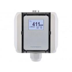 CO2-A/A Sensor de qualidade de ar CO2 com interruptor de gama de medição (com/sem visor)