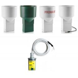 Rain-O-Matic-Pro Medidor de Chuva Profissional (Precisão: +/- 2%) com Data Logger HOBO UA-003-64