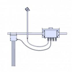 IDS-20 Detecção de gelo precisa e confiável com tecnologia sem contato