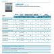 UPM209RGW Medidor Trifásico multifunción de 4 módulos DIN (incluye bobinas Rogowski)
