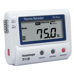 TR-75wf/nw Thermocouple (K, J, T, E, S, R) Data Logger for Cloud Storage