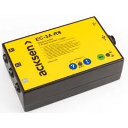 EC-7VAR-RS Data Logger Trifásico para Factor de Potencia, Corriente e Voltaje