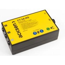 CT-3A-RS Electrocorder registrador de corriente trifásico para Industria y pequeños comercios