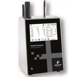 7301 Contador de Partículas Remoto 0,3 - 25 µm a 0,1 CFM com bomba e bateria internas de longa duração