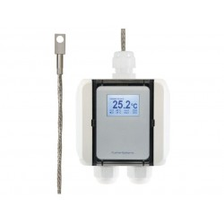 AO-FS1051 Temperature transducer with surface sensor and stainless steel sensor tip, Modbus RTU output