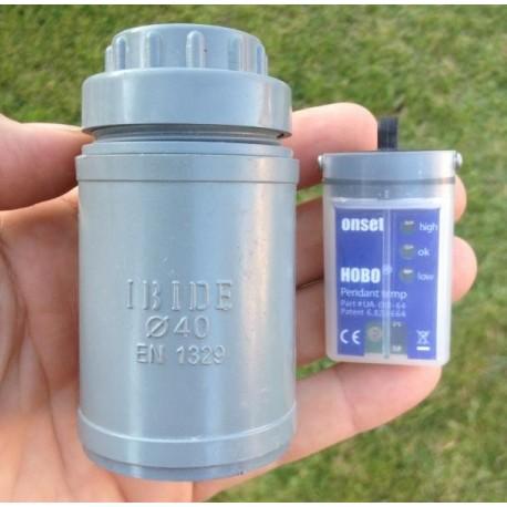 UA-CASE Caja PVC sumergible para registradores de datos HOBO Serie UA