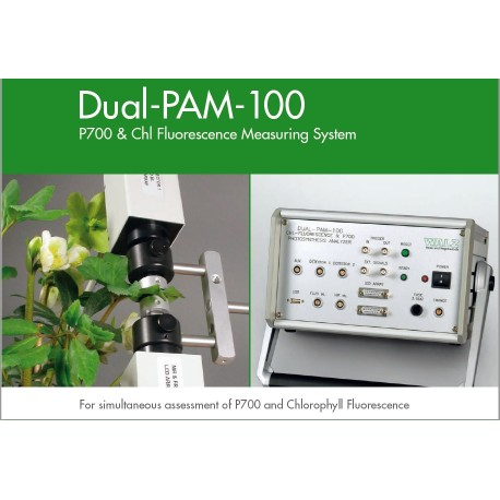 Sistema de Fluorescencia de Clorofila & P700 de WALZ (DUAL-PAM-100)