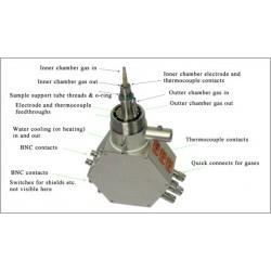 ProboStat-Base-Unit Unidad Base ProboStat con calefactor de líneas de gas internas
