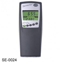 SE-0024 6,000ppm CO2, Medidor con Registrador de Datos