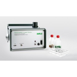 PHYTO-PAM-II MODULAR version with connected Miniature Magnetic Stirrer PHYTO-MS.