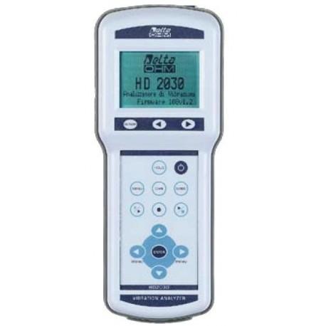 HD2030 Analizador de Vibraciones de Cuatro Canales