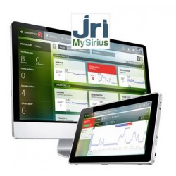 SiriusWeb cloud-based monitoring solution for thermo-controlled equipments, warehouses and energy consumption
